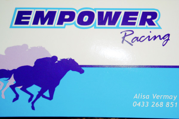 Aussie Horse Stables - Clients - Empower Racing